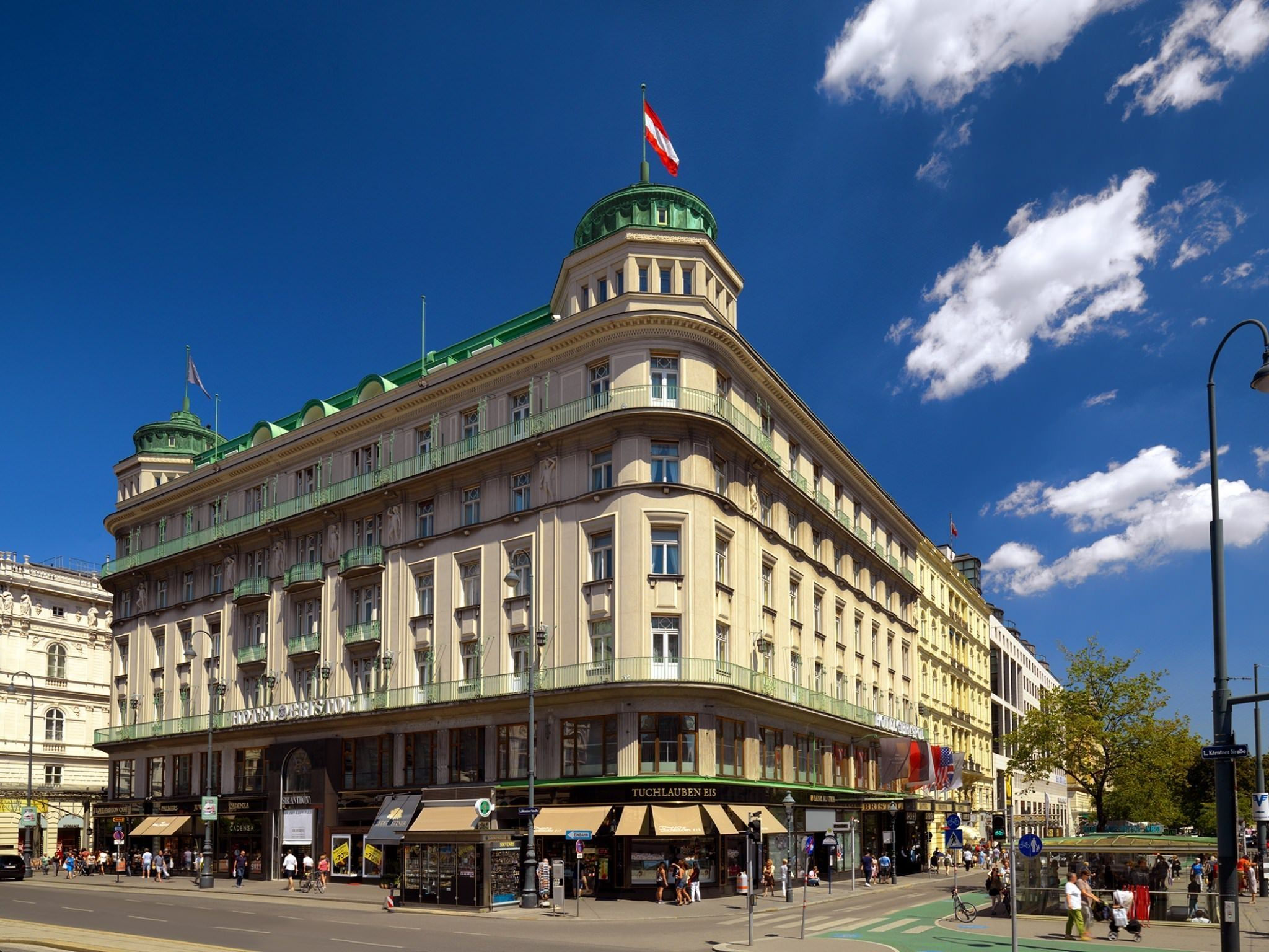 Luxus Hotel Bristol in Wien