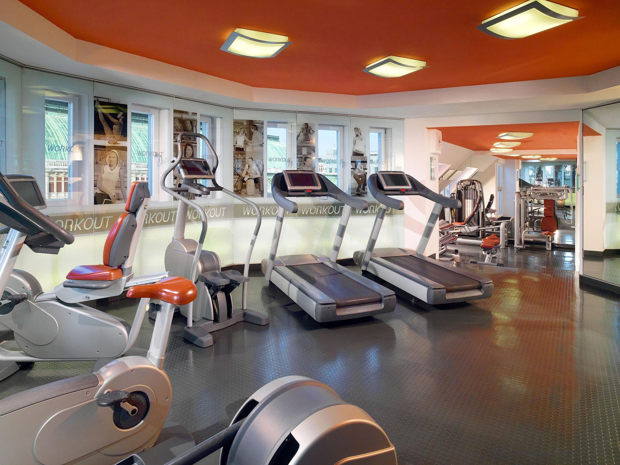 Fitness Center im Hotel Bristol Wien